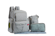 SoHo Collection, Manhattan 5 pieces Nappy BackPak Set * Limited Tme Offer! *