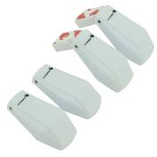4 Pcs Drawer Locks Child Safety Finger Protection Toilet Locks