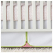 Serena & Lily Lola Crib Skirt- Green