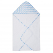 Trend Lab Logan Hooded Towel, Blue