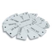 Aluminium Braille Clothing Identifiers
