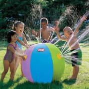 Toponechoice® 60cm Spray Inflatable Outdoor Sprinkler Toy Beach Ball Water Balloon for Children Party