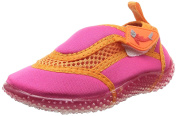 Smiling Shark Girl's Beach Shoes - Pink, Size 22