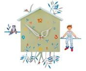 The Boat alabonneheure Bird Clock laton-raveur