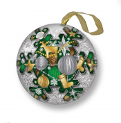 H. Bronnley & Co Christmas Fragrance Soap Bauble