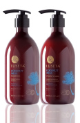 Luseta Coconut Milk Shampoo & Conditioner Set 2x500ml Nourish and Moisturise Hair Repair Damaged and Weakened Hair Sulphate free Phosphate free Paraben free Colour Safe