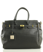Noble Mount London Office Tote Croc Finish - 5 Colours