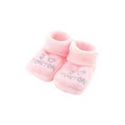 baby booties Pink 0-3 Months - Like Uncle