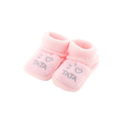 baby booties 0-3 Months pink - I like tata