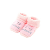 baby booties Pink 0-3 Months - Like godfather