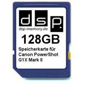 DSP Memory Z 4051557428874 128 GB Memory Card for Canon PowerShot G1X Mark II