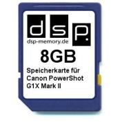 DSP Memory Z 4051557428836 8GB Memory Card for Canon PowerShot G1X Mark II