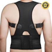 Aptoco Back Shoulder Support Posture Corrector Bad lumbar support Belt Brace