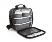 TATAY 1167510 Urban Food Chess Lunch Bag Kit 10 x 22.5 x 22 cm