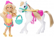 "Barbie DLY34 ""Chelsea and Pony"" Doll"