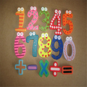 Tonsee Magnetic Wooden Numbers Math Set Digital Baby Educational puzzle Toy