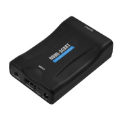 Top-Longer HDMI to SCART Composite Video Converter Stereo Audio Adapter - Blateral Scart to RCA Converter Included