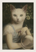 Unspeakable Fortune Single Postcard by Stephen Mackey