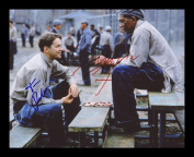 Shawshank Redemption - Tim Robbins & Morgan Freeman Autographed Signed And Framed Photo