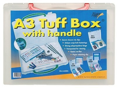 Tiger A3 tuff box with handle