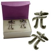 Mathematical Constant . Pi Cufflinks by KITSCH CUFFLINKS