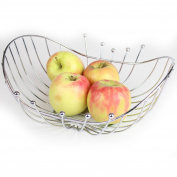 Chrome Fruit Basket Fruit Bowl New Style Design Prime Homewares®