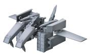 "Bandai Hobby HGBC 1/144 Bolden Arm Arms ""Gundam Build Fighters"" Model Kit"