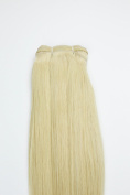 60cm BLONDE STRAIGHT INDIAN HAIR EXTENSIONS