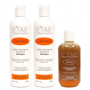 Etae Natural Products 2 Shampoo Carmelux E'tae, 1 Carmel Treatment Combo