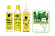 Jamaican Mango & Lime 3Pc Hair Care Set W/ Aloe Facial Mask