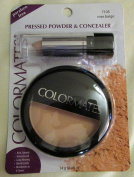 Colormates Pressed Powder & Concealer #7105 Rose Beige