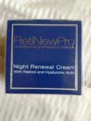 RetiNewPro Advanced Regenerating Formula Night Renewal Cream with Retinol and Hyaluronic Acid, 1.7 oz / 50ml