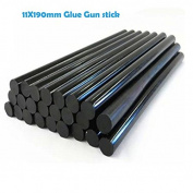 Mangocore 12pcs/lot 11mmx190mm DIY Hot Melt Glue Sticks Black colour For Hot Melt Gun Car Audio Craft General Purpose