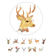 Alideco Decorative Craft Washi Masking Tape Japanese Paper Tape ScrapBook deer Calendar