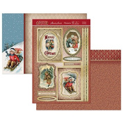 Hunkydory Crafts Christmas Classics - Christmas Greeting Topper Set