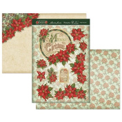 Hunkydory Crafts Christmas Classics - Pretty Poinsettias Topper Set
