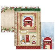 Hunkydory Crafts Christmas Classics - Robin & Friends Topper Set