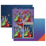 Hunkydory Crafts Festive Elegance - We Three Kings Topper Set