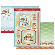 Hunkydory Crafts Cute Christmas - Owl Be Home for Christmas Topper Set