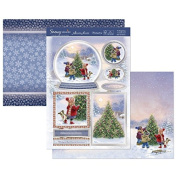 Hunkydory Crafts Snowy Season It's Beginning to Look a Lot Like Christmas Topper Set