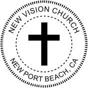 Religious Cross Embosser - Church Embosser - Custom Embosser for Church