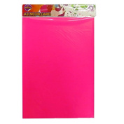 A3 Neon Fluorescent Display Card - Pack of 6 - Mixed Colours - Size 5m x 3.6m - by Pennine