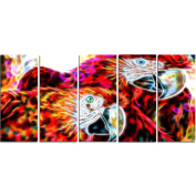 Digital Art PT2441-401 Macaw Parrot Duo Animal Canvas Art