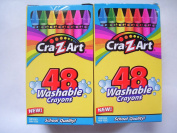 Cra--Z-Art, 48 Washable Crayons, Pack of 2
