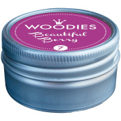 Woodies Dye-Based Ink Tin-Beautiful Berry