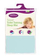 Clevamama Toilet Training Sleep Mat, Blue, 70cm x 90cm