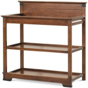 Child Craft Redmond Dressing Table/Twin Bed Headboard, Coach Cherry