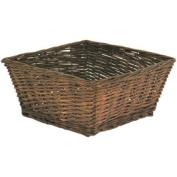 Large Willow Basket, Espresso