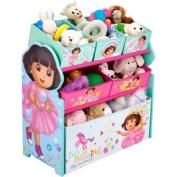 Dora the Explorer - Multi-Bin Toy Organiser, That Makes Tidying up Fun.