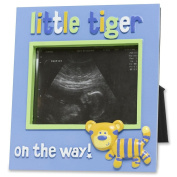 Baby boy sonogram photo frame